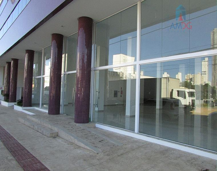 Salão comercial para locação, Ariribá, Balneário Camboriú - SL0001.