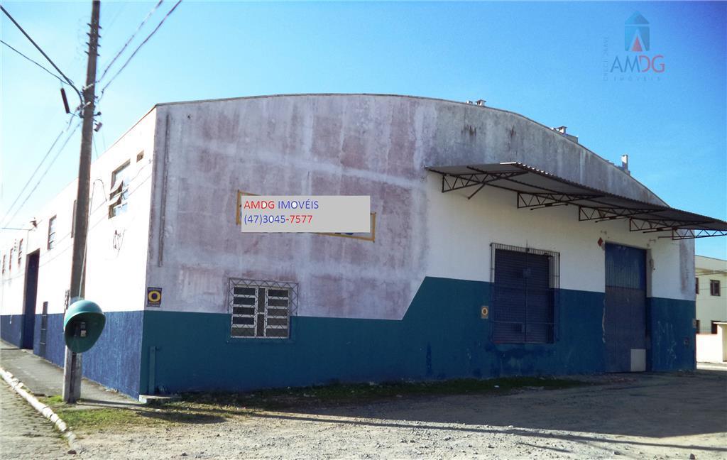 Galpão comercial para locação, Dom Bosco, Itajaí - GA0018.