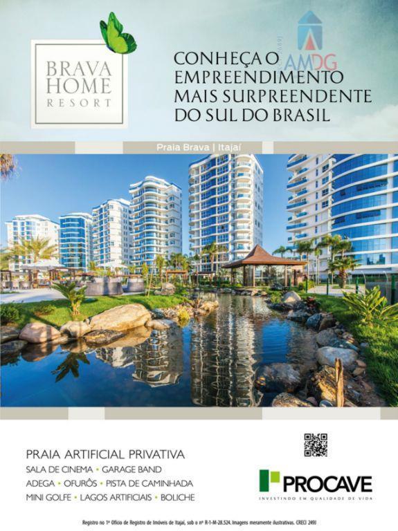 Apartamento residencial à venda, Praia Brava, Itajaí - AP0645.