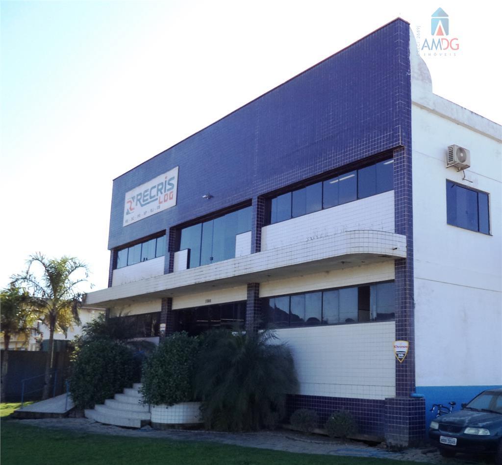 Galpão comercial para locação, Espinheiros, Itajaí - GA0019.