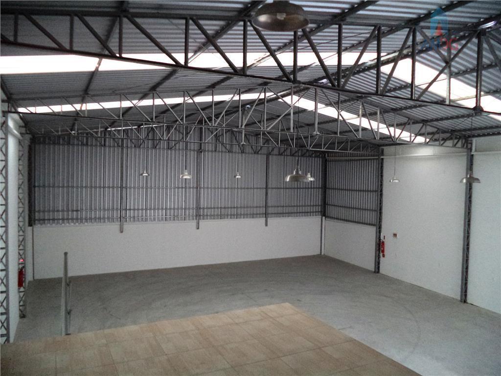 Galpão comercial para locação, Centro, Itajaí - GA0022.