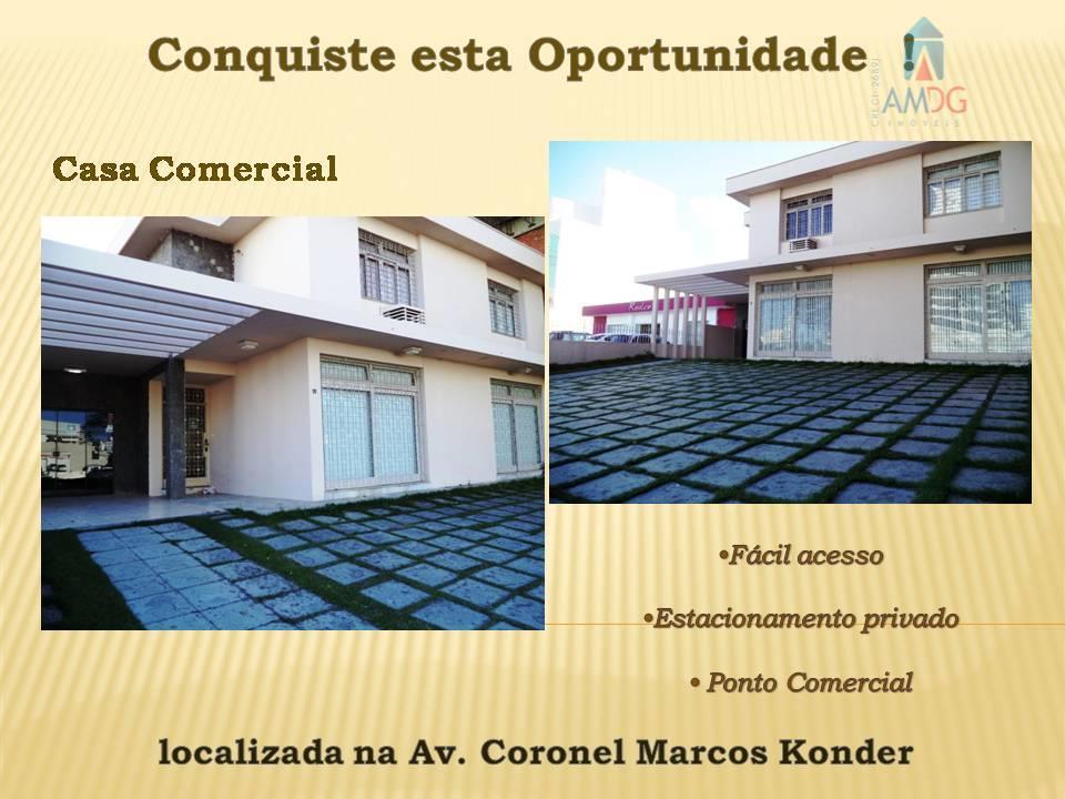 Casa comercial para locação, Centro, Itajaí - CA0285.