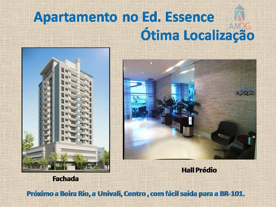 Apartamento residencial para locação, Fazenda, Itajaí - AP0767.
