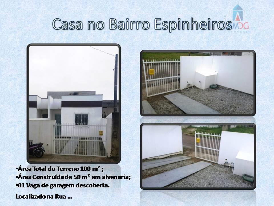 Casa residencial para locação, Espinheiros, Itajaí - CA0286.