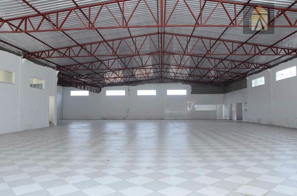 Galpão comercial para venda e locação, Espinheiros, Itajaí - GA0031.