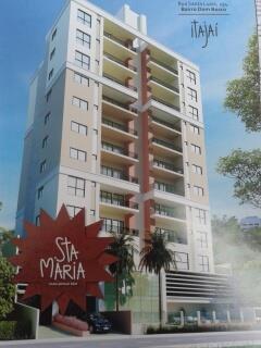Apartamento residencial à venda, Dom Bosco, Itajaí - AP1018.