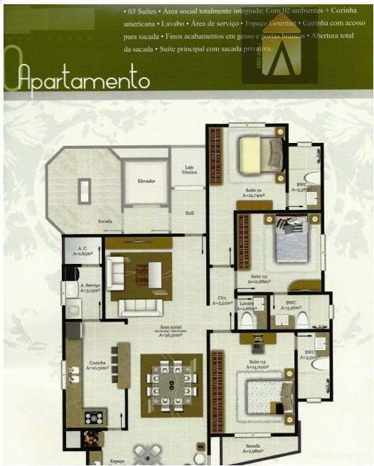 Apartamento residencial à venda, Centro, Balneário Camboriú - AP1127.