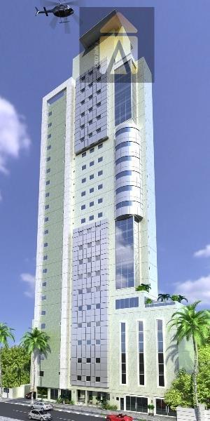 Apartamento residencial à venda, Centro, Balneário Camboriú - AP1148.