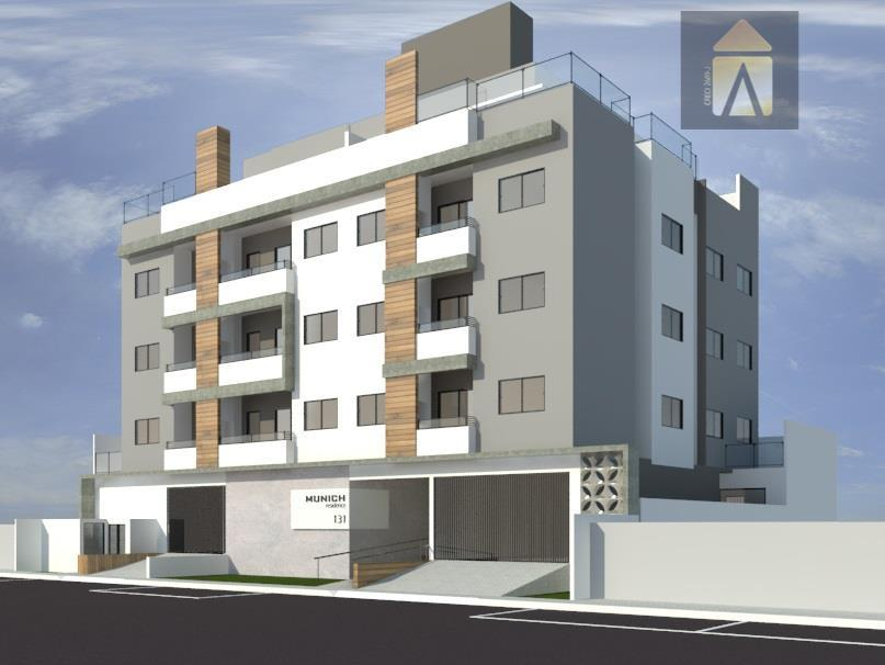 Apartamento residencial à venda, São João, Itajaí - AP1225.