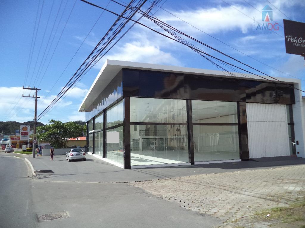 Loja  comercial para locação, Fazenda, Itajaí.
