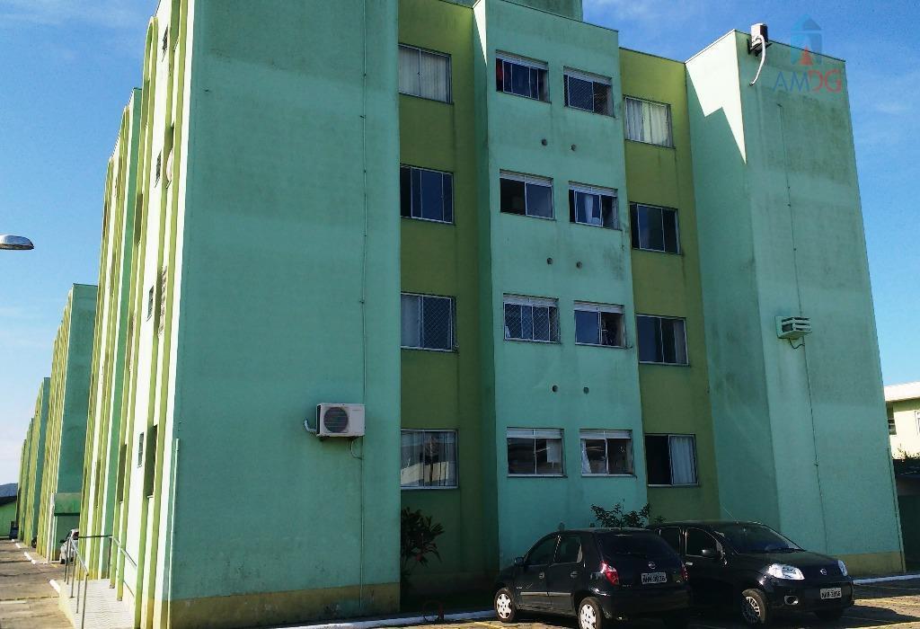 Apartamento residencial para locação, Cordeiros, Itajaí - AP1229.