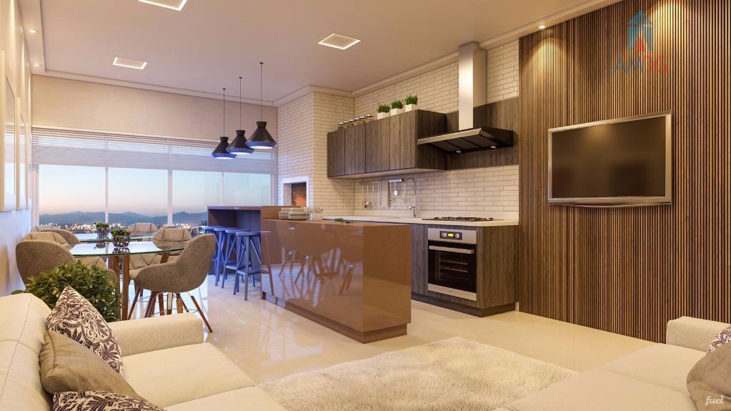 Apartamento residencial à venda, São Judas, Itajaí - AP1262.