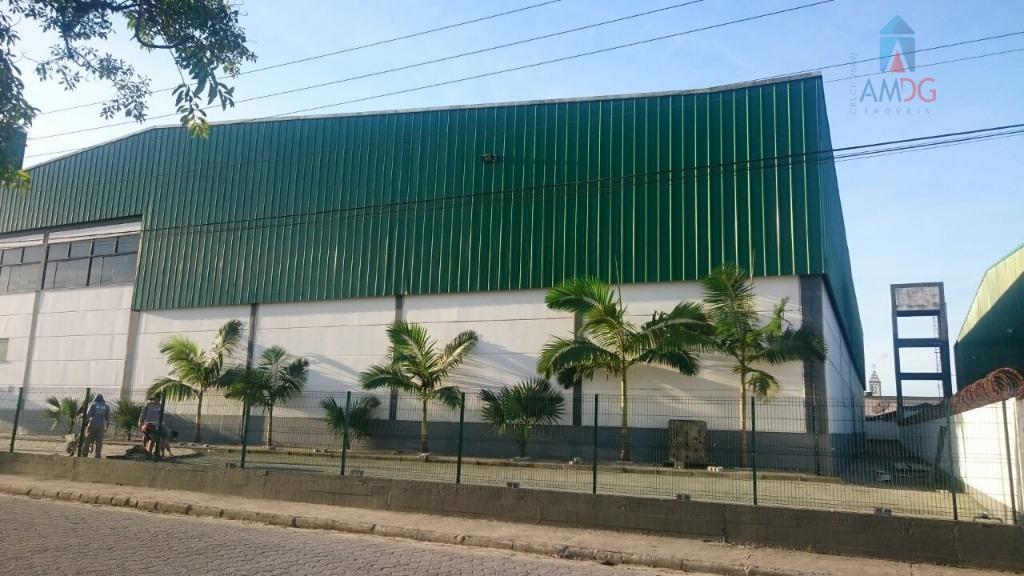 Galpão comercial para locação, Espinheiros, Itajaí - GA0032.