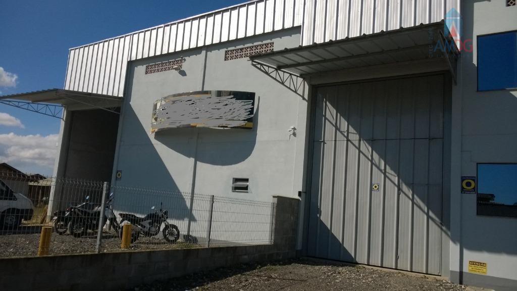 Barracão comercial para locação, Quilômetro Doze, Itajaí - BA0003.