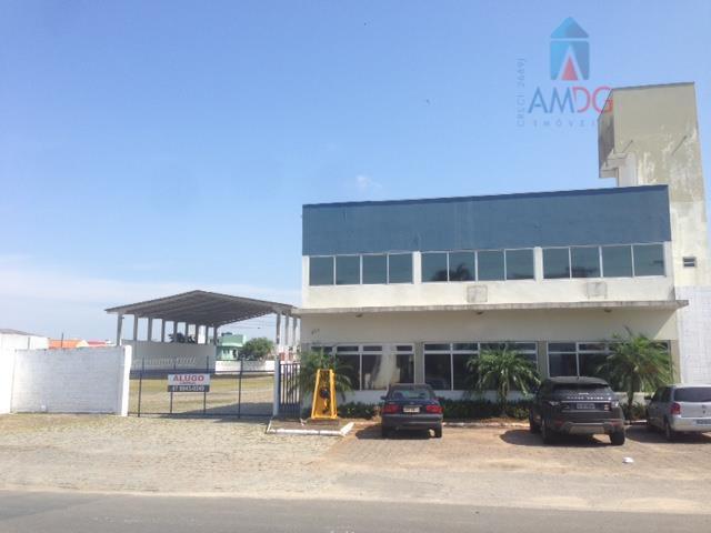 Galpão industrial para locação, Vila Operária, Itajaí - GA0034.