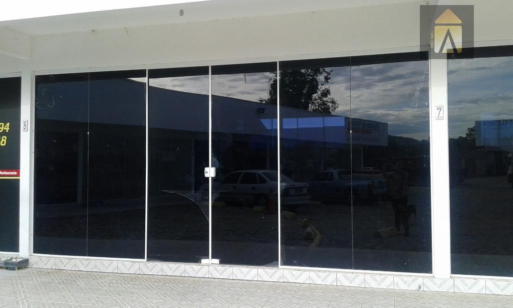 Sala comercial para locação, Quilômetro Doze, Itajaí - SA0121.
