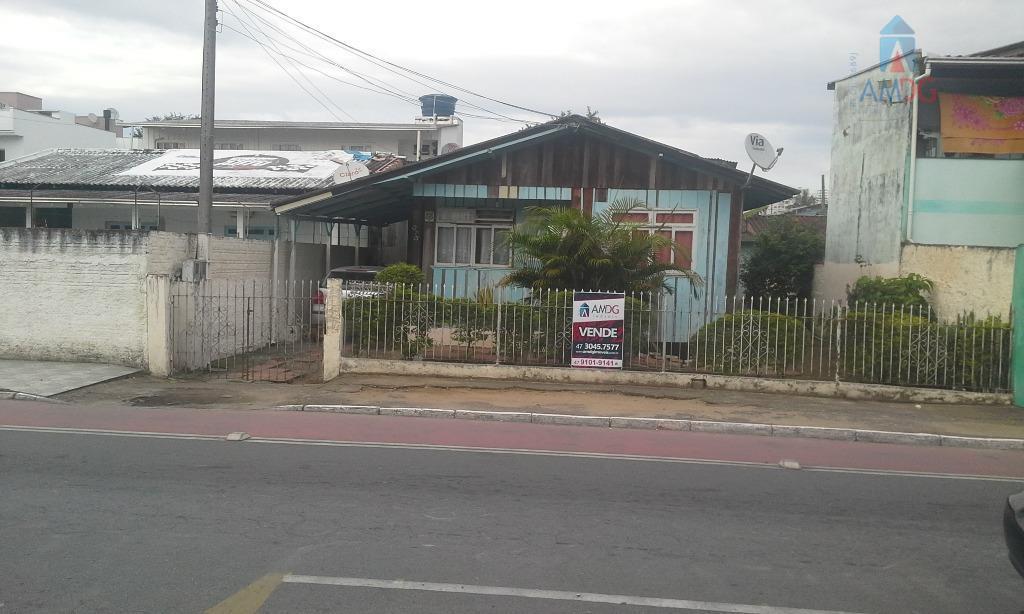 Casa residencial à venda, São Vicente, Itajaí - CA0386.