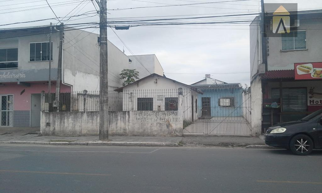 Terreno residencial à venda, São Vicente, Itajaí - TE0249.