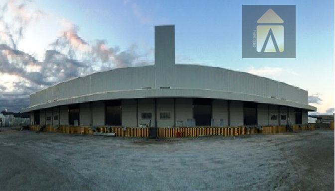 Galpão industrial para locação, São Vicente, Itajaí - GA0036.