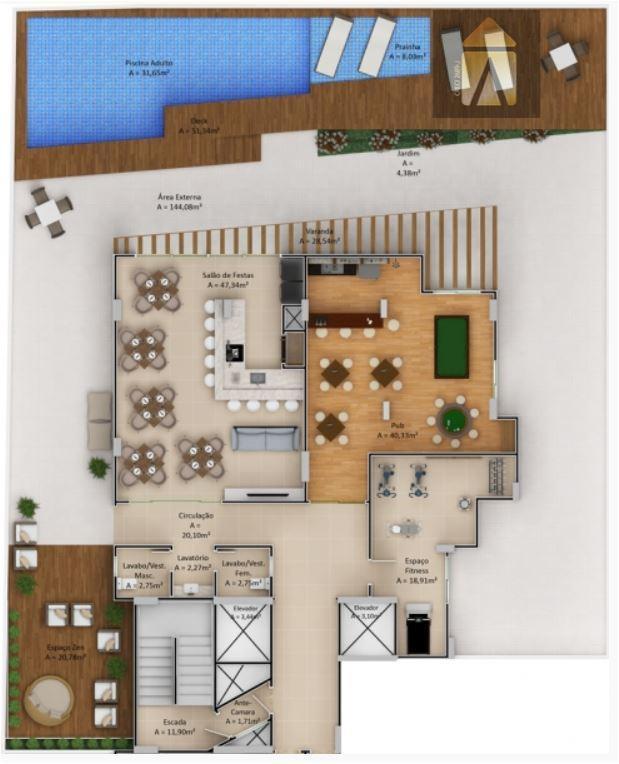 localização privilegiada, área de lazer completa, apartamentos amplos e bem distribuídos, finamente acabado. o tour soleil...