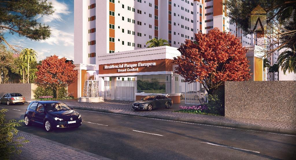 Apartamento residencial à venda, Carvalho, Itajaí - AP1518.