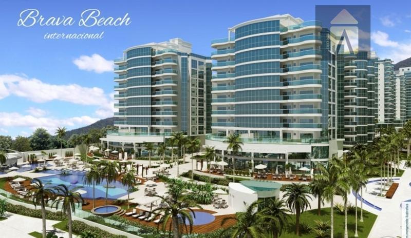 Apartamento residencial à venda, Praia Brava, Itajaí - AP1314.