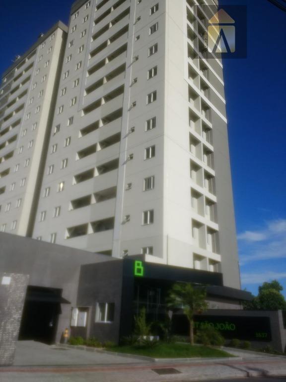 Apartamento residencial para locação, São João, Itajaí - CA0540.