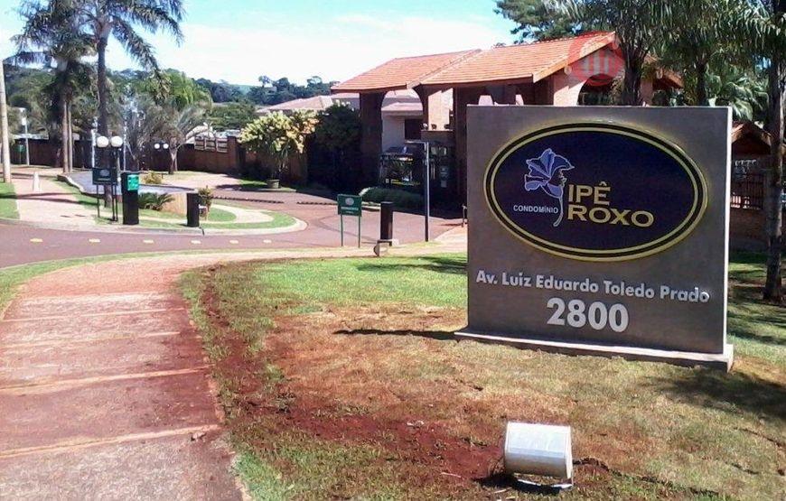 Terreno residencial à venda, Condomínio Ipê Roxo, Ribeirão Preto.
