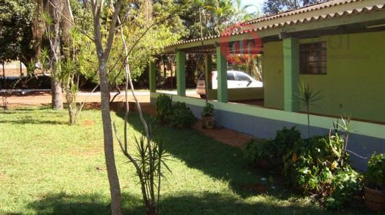 Chácara residencial à venda, Conjunto Habitacional Jardim das Palmeiras, Ribeirão Preto.