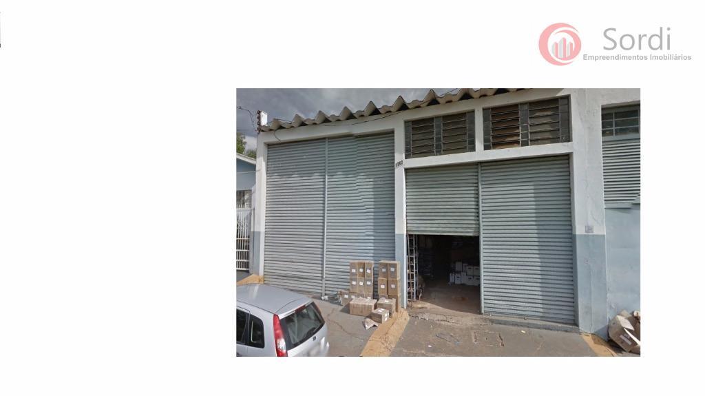 Galpão comercial à venda, Vila Virgínia, Ribeirão Preto.