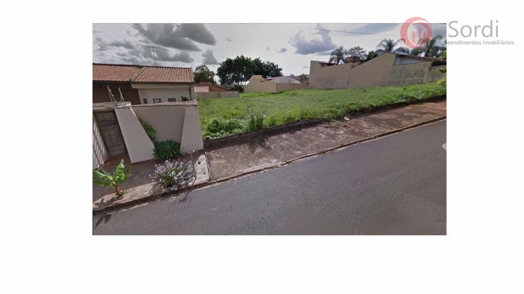 Terreno residencial à venda, Jardim Califórnia, Ribeirão Preto.