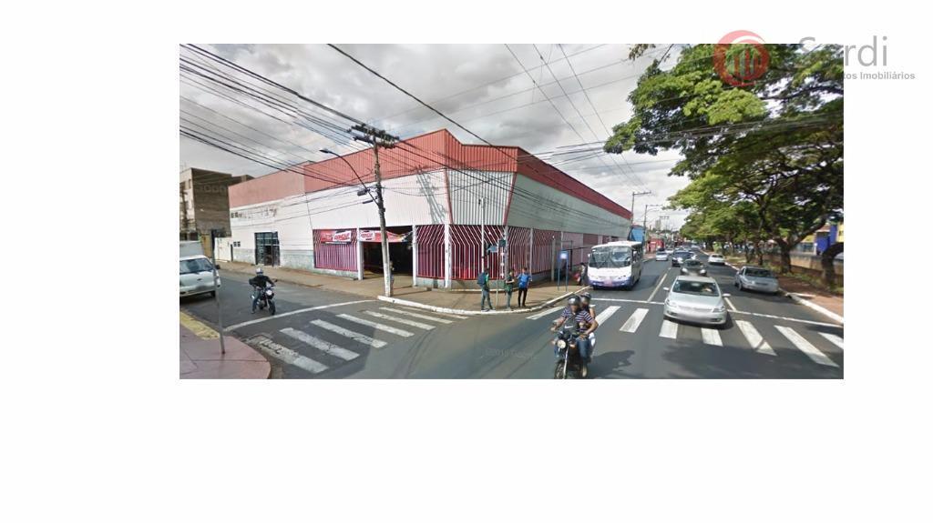 Galpão comercial à venda, Centro, Ribeirão Preto.