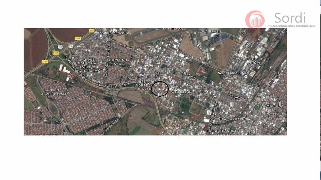 Terreno comercial à venda, Vila Carvalho, Ribeirão Preto.
