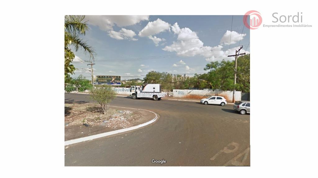 Área comercial à venda, Jardim Anhangüera, Ribeirão Preto.