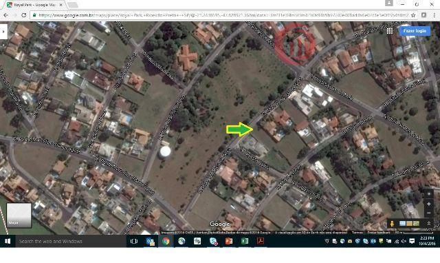 Terreno residencial à venda, Royal Park, Ribeirão Preto.