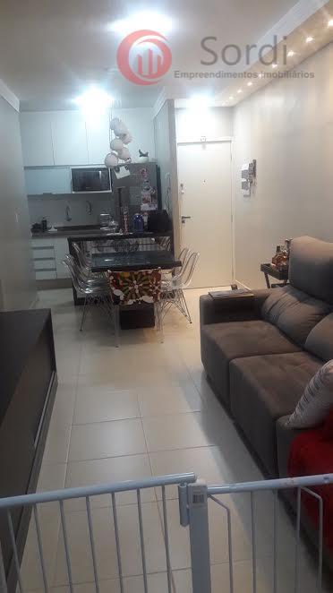 Apartamento residencial para venda e locação, Parque Industrial Lagoinha, Ribeirão Preto.