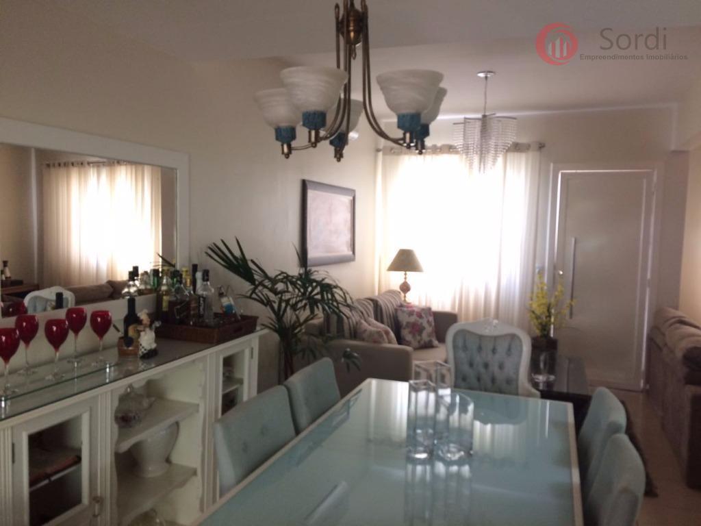 Sobrado com 3 dormitórios à venda, 110 m² por R$ 550.000 - Condomínio Guaporé - Ribeirão Preto/SP