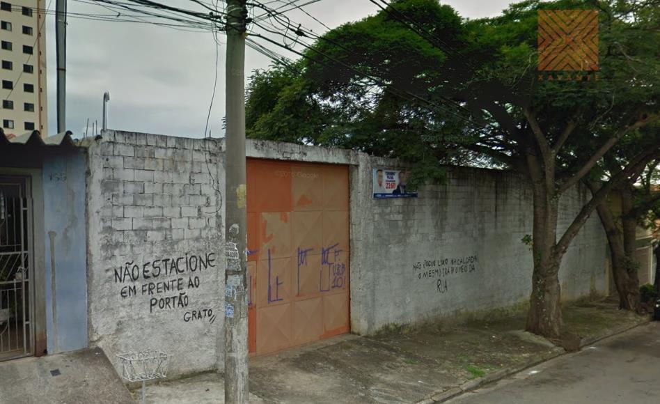 Terreno com 26 de frente à venda, Vila Ré, São Paulo.