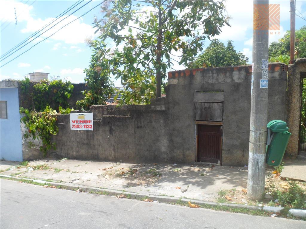 Terreno residencial à venda, Parque Boturussu, São Paulo.