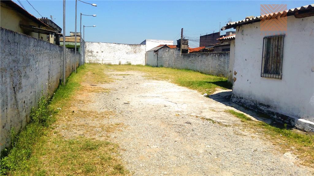 Terreno residencial à venda, Vila Paranaguá, São Paulo - TE0041.