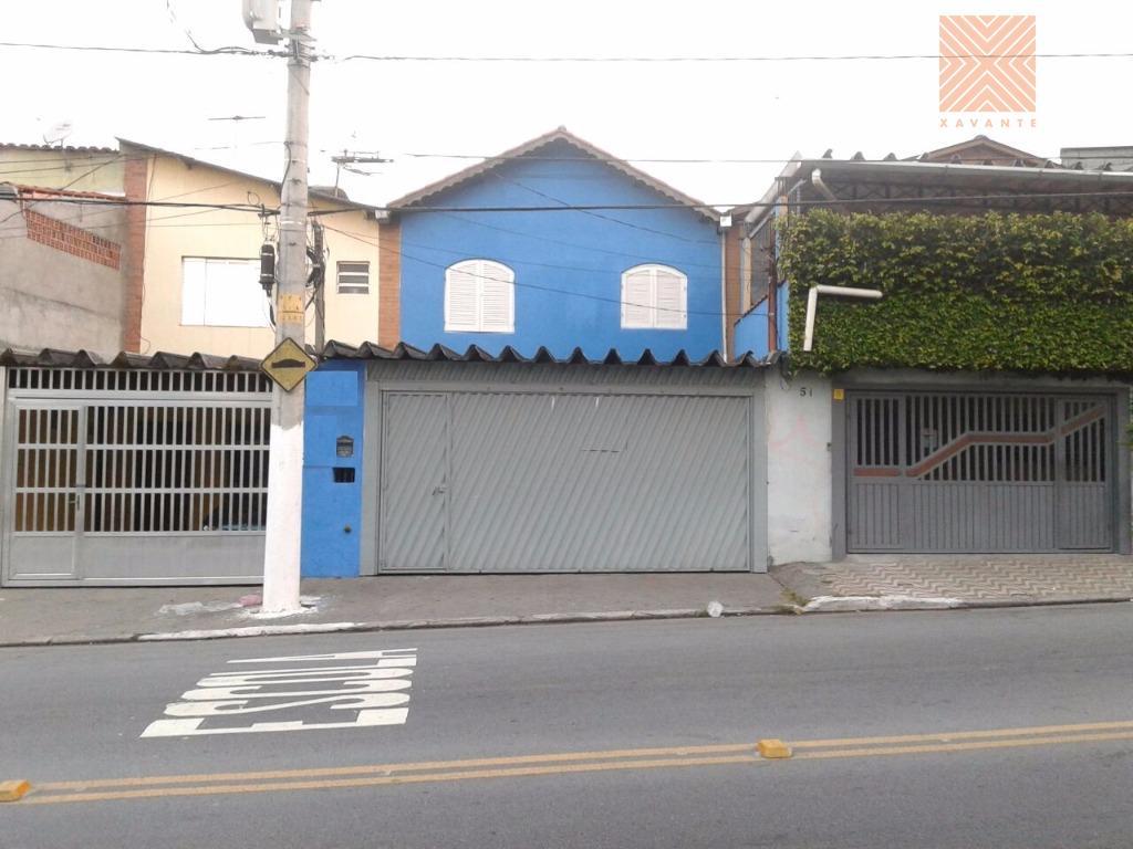 Sobrado residencial à venda, Parque Císper, São Paulo - SO0834.