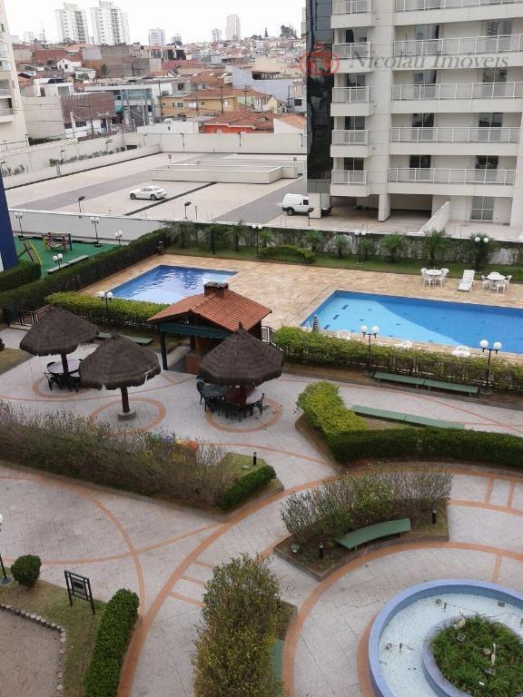 Apartamento  residencial para locação, Vila Regente Feijó, São Paulo.