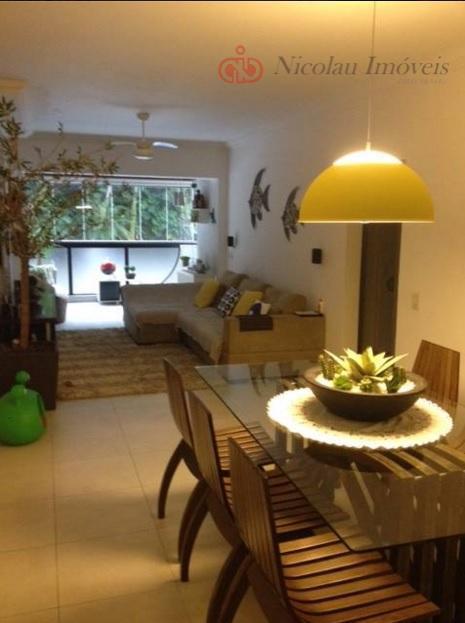 Apartamento de 3 Dormitórios, 1 Suíte e 2 Vagas no Guarujá