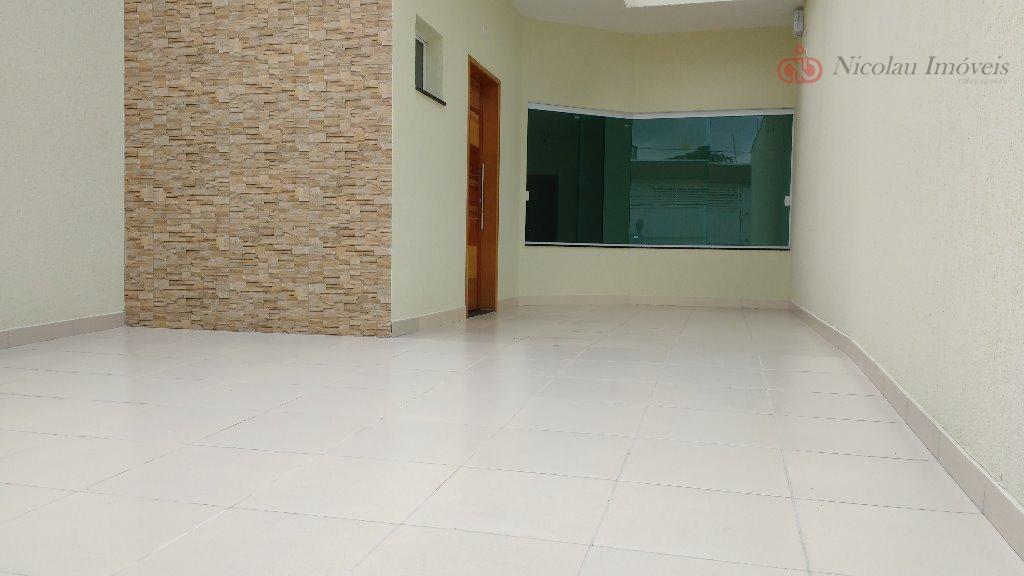 Casa Térrea Nova de 3 Dormitórios, 1 Suíte e 2 Vagas na Vila Zelina