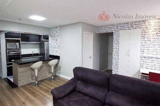 Apartamento de 3 Dormitórios sendo 1 Suíte Varanda Gourmet e 2 Vagas na Moóca
