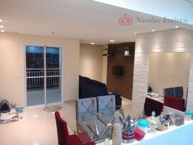 Apartamento de 3 Dormitórios sendo 1 Suíte Varanda Gourmet e 2 Vagas no La-Tour Vila Formosa
