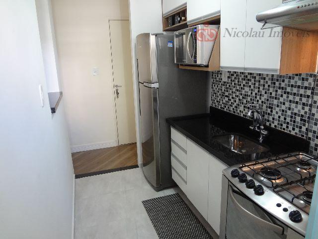 Apartamento para Locação de 2 Dormitórios Lazer Completo na Vila Mendes