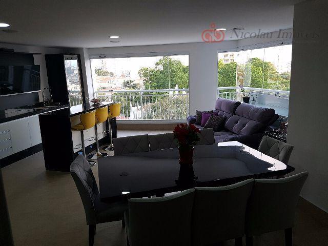 Belíssimo Apartamento de 3 Dormitórios sendo 3 Suítes e 2 Vagas de Garagem na Moóca *Porteira Fechada