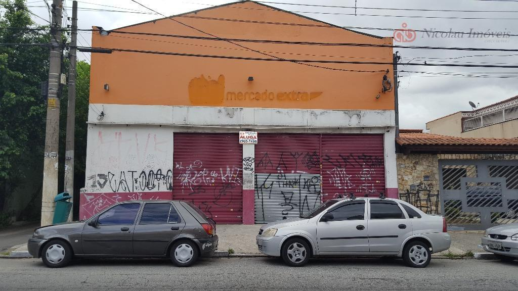 Salão comercial para locação, Vila Regente Feijó, São Paulo.