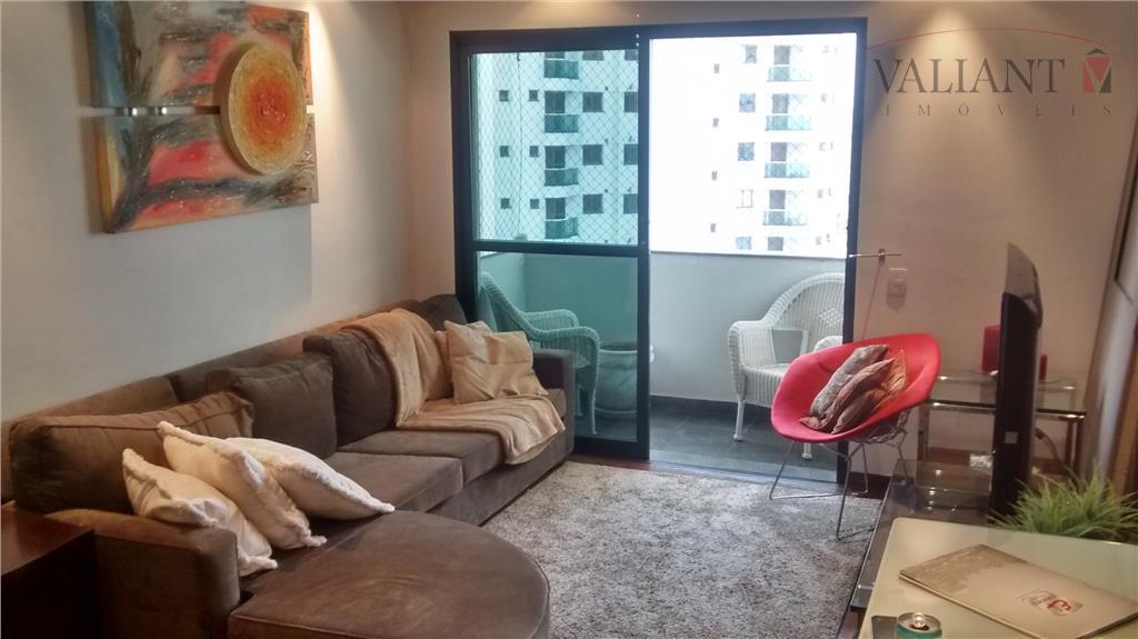 Apartamento 127m² 3 Dormitórios à venda, Tatuapé, São Paulo.